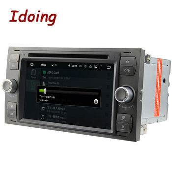 Idoing 2Din Android7.1 Ford Mondeo Focus2 MAX Için Direksiyon Simidi-Araba DVD Multimedya Video Player Quad Core Multimedya Stereo